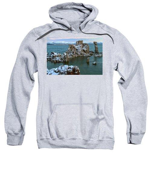 Mono Lake Tufa Towers Sunrise Sweatshirt