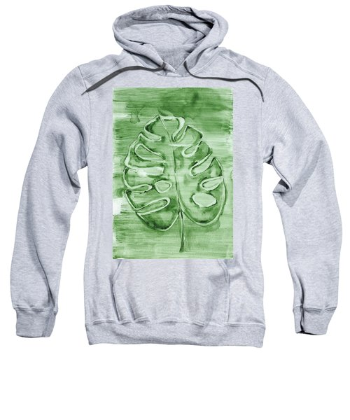 Monstera Leaf Sweatshirt