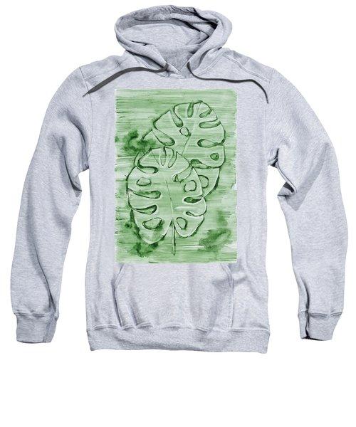Monstera Leaves Sweatshirt
