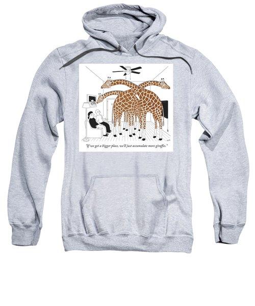 More Giraffes Sweatshirt