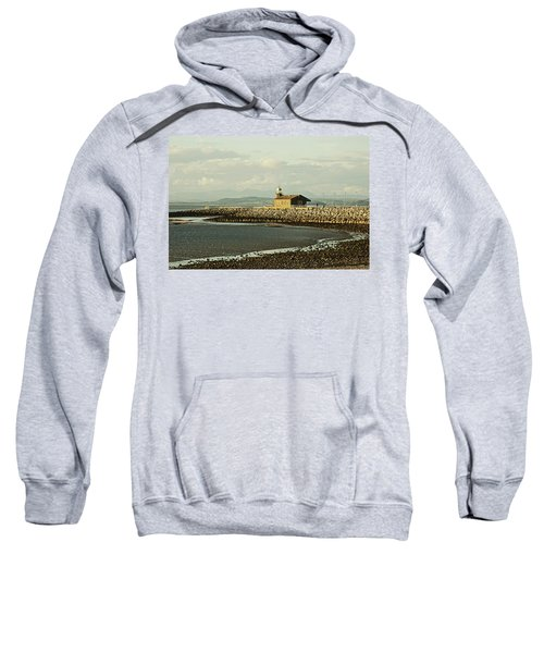 Morecambe. The Stone Jetty. Sweatshirt