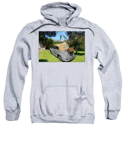 Morris Minor Grey Convertible Sweatshirt