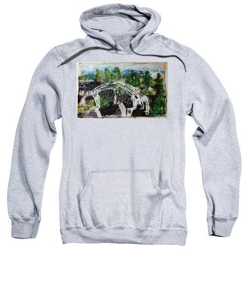 Mother Money Begins To Collapse Sweatshirt
