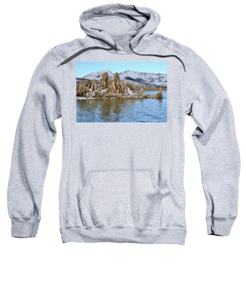 Mount Dana At Dawn  Mono Lake Sweatshirt