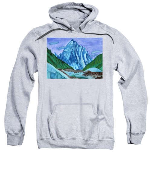 Snow Peak Above The Clouds Sweatshirt