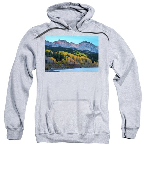 Sweatshirt featuring the photograph Mountain Trout Lake Wonder by James BO Insogna