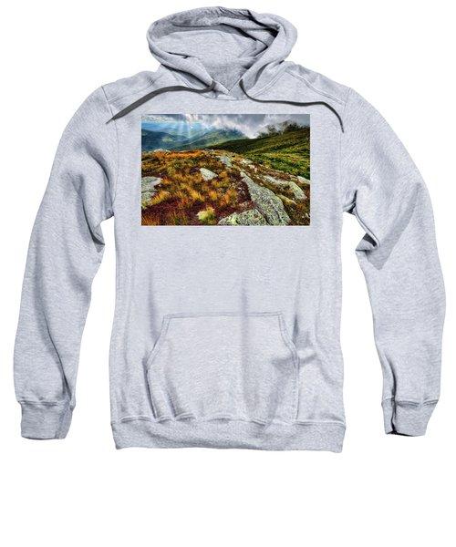 Mt. Washington Nh, Autumn Rays Sweatshirt