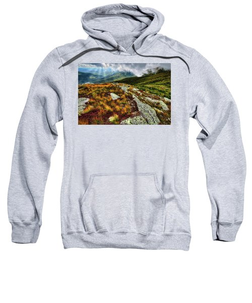 Mt. Washington Nh, Autumn Rays Sweatshirt