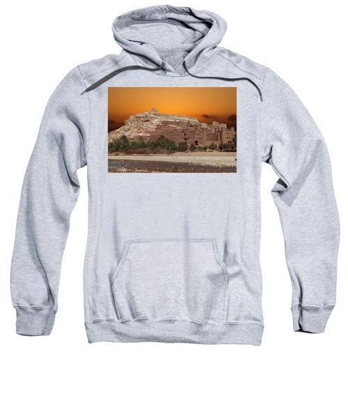 Mud Brick Buildings Of The Ait Ben Haddou Sweatshirt