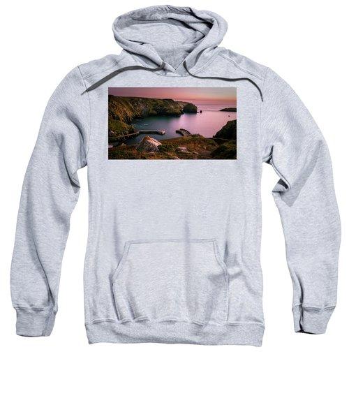 Mullion Cove Sunset - Cornwall General View Sweatshirt