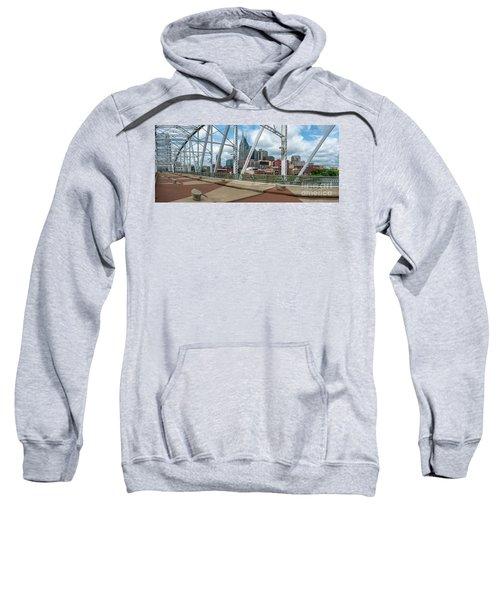 Nashville Cityscape From The Bridge Sweatshirt