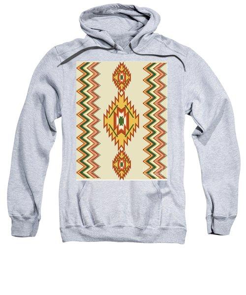Native American Rug Sweatshirt