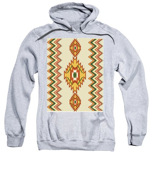 Native American Rug Sweatshirt