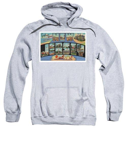 New Jersey Greetings - Version 1 Sweatshirt