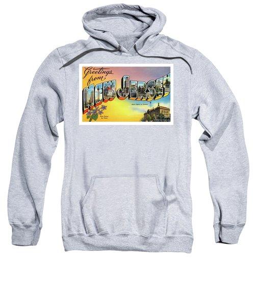 New Jersey Greetings - Version 2 Sweatshirt