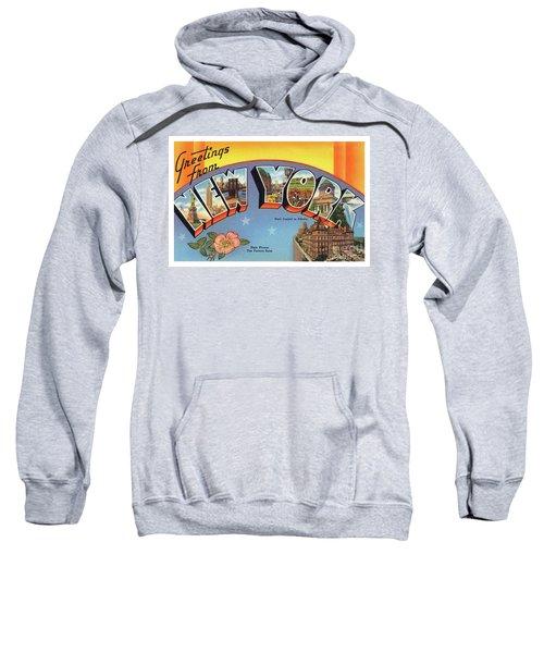 New York Greetings - Version 4 Sweatshirt