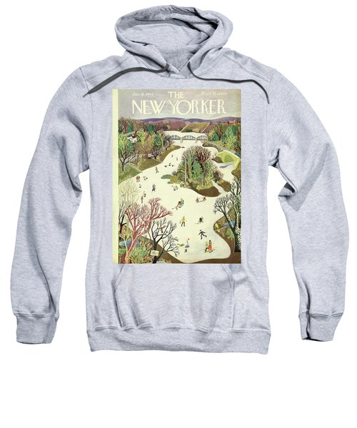 New Yorker January 16th 1943 Sweatshirt