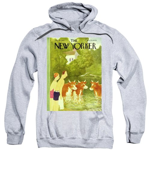 New Yorker July 10th 1943 Sweatshirt