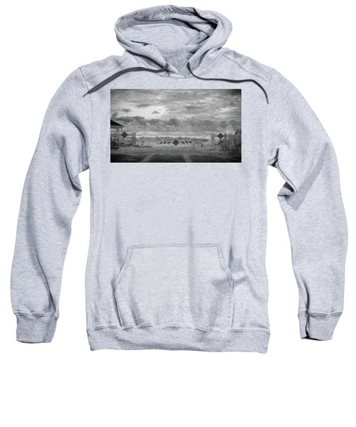 No Vehicles Sweatshirt