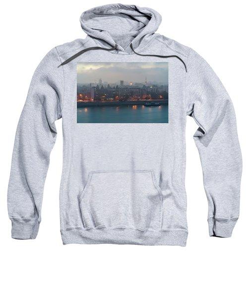 Novi Sad Night Cityscape Sweatshirt