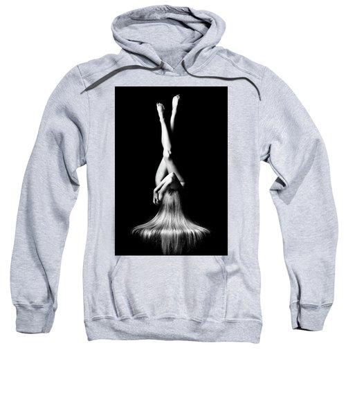 Nude Woman Bodyscape 1 Sweatshirt