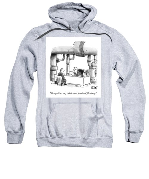 Occasional Plumbing Sweatshirt