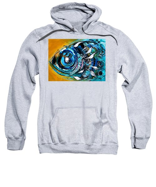 Ochre Fish Four Sweatshirt