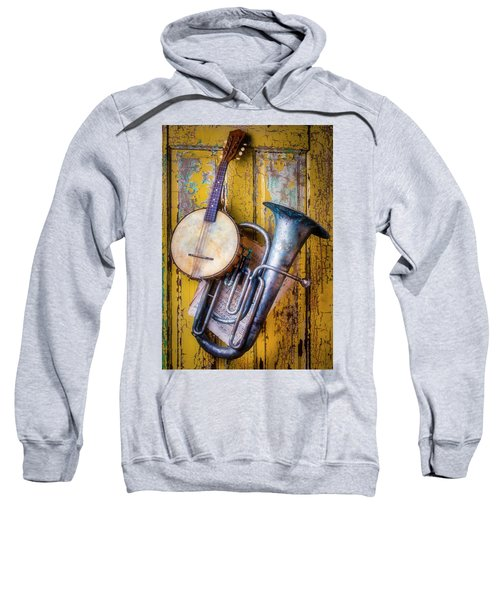 Old Banjo And Tuba Sweatshirt