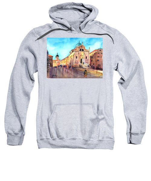 Old City Of Dubrovnik Sweatshirt