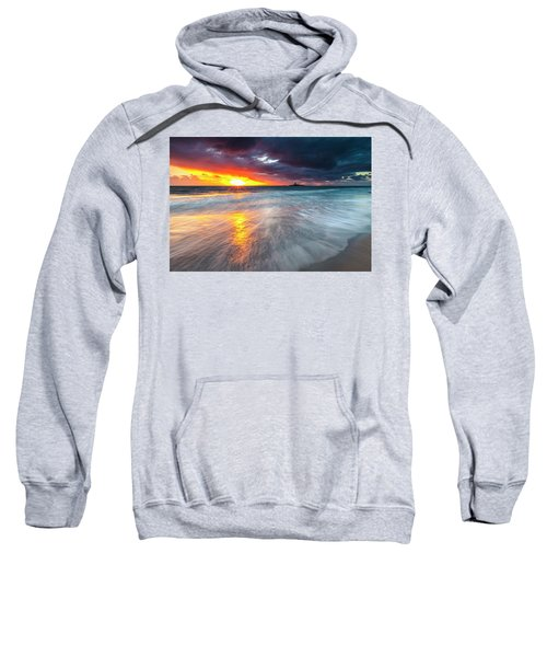 Sweatshirt featuring the photograph Old Lighthouse by Evgeni Dinev