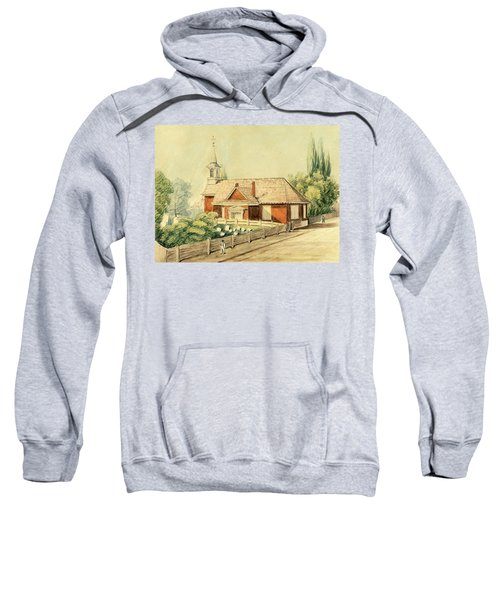 Old Swedes' Church, Southwark, Philadelphia Sweatshirt