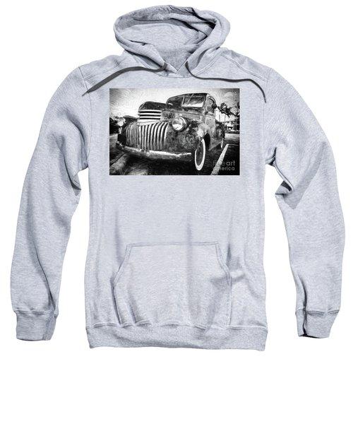 Old Truck  - Painterly Sweatshirt