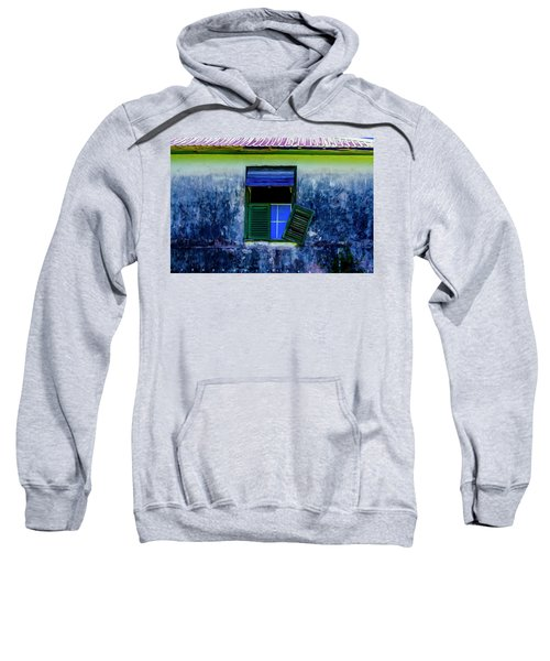 Old Window 3 Sweatshirt