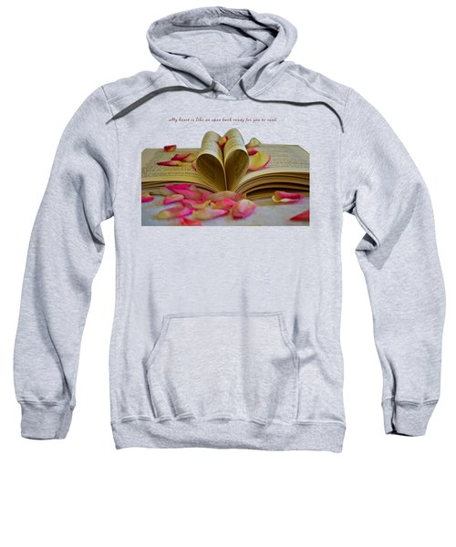 Open Book Sweatshirt