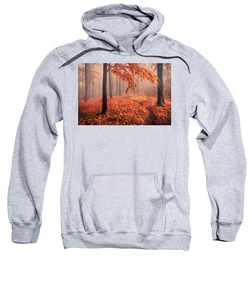 Orange Wood Sweatshirt