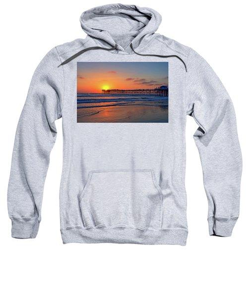 Pacific Beach Pier Sunset Sweatshirt