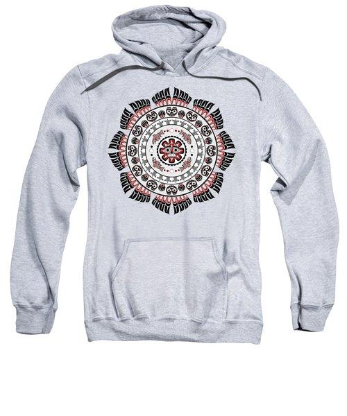 Pacific Northwest Native American Art Mandala Sweatshirt