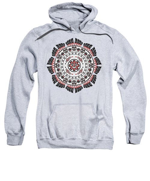 Pacific Northwest Native American Art Mandala Sweatshirt