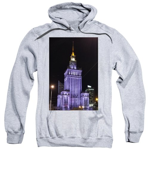 Palace  Of Culture And Science  Sweatshirt