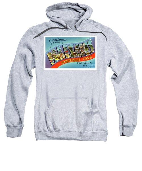 Palisades Amusement Park Greetings Sweatshirt