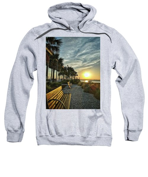 Palm Tree Sunset Sweatshirt
