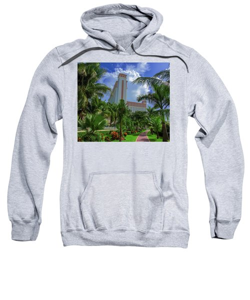 Palms At The Riu Cancun Sweatshirt