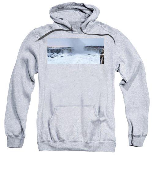 Panoramic View Niagara Falls Sweatshirt