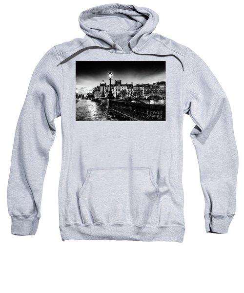 Paris At Night - Pont Neuf Sweatshirt