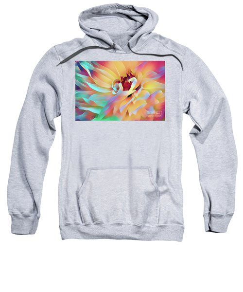 Party Time Dahlia Abstract Sweatshirt