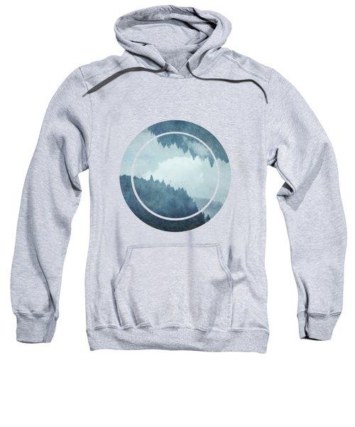 Passing Days - Misty Blue Mountains Sweatshirt