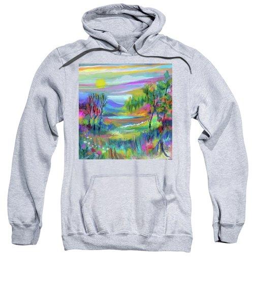 Pastel Landscape Sweatshirt