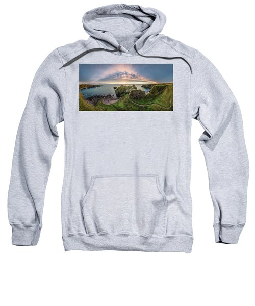 Path To Dunnottar Castle Sweatshirt