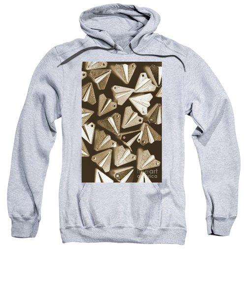 Patterned In Aviation Sweatshirt