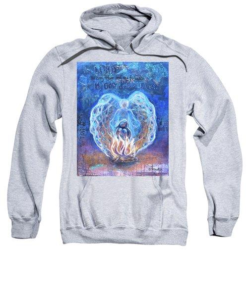 Peacock Angel    Cooler Version Sweatshirt